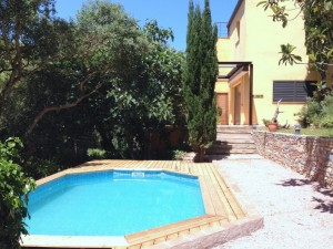 Sunny house with private pool in Sa Riera Begur
