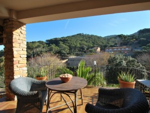 House with separate apartment in Sa Riera
